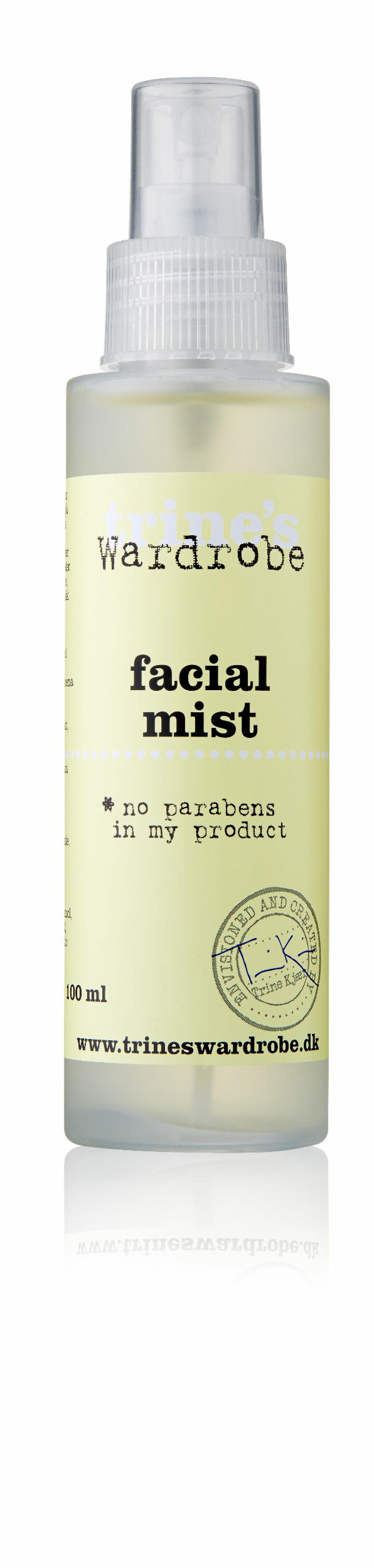 Facial Mist fra Trines Wardrobe Skin Care, kr 99. Foto: Produsenten