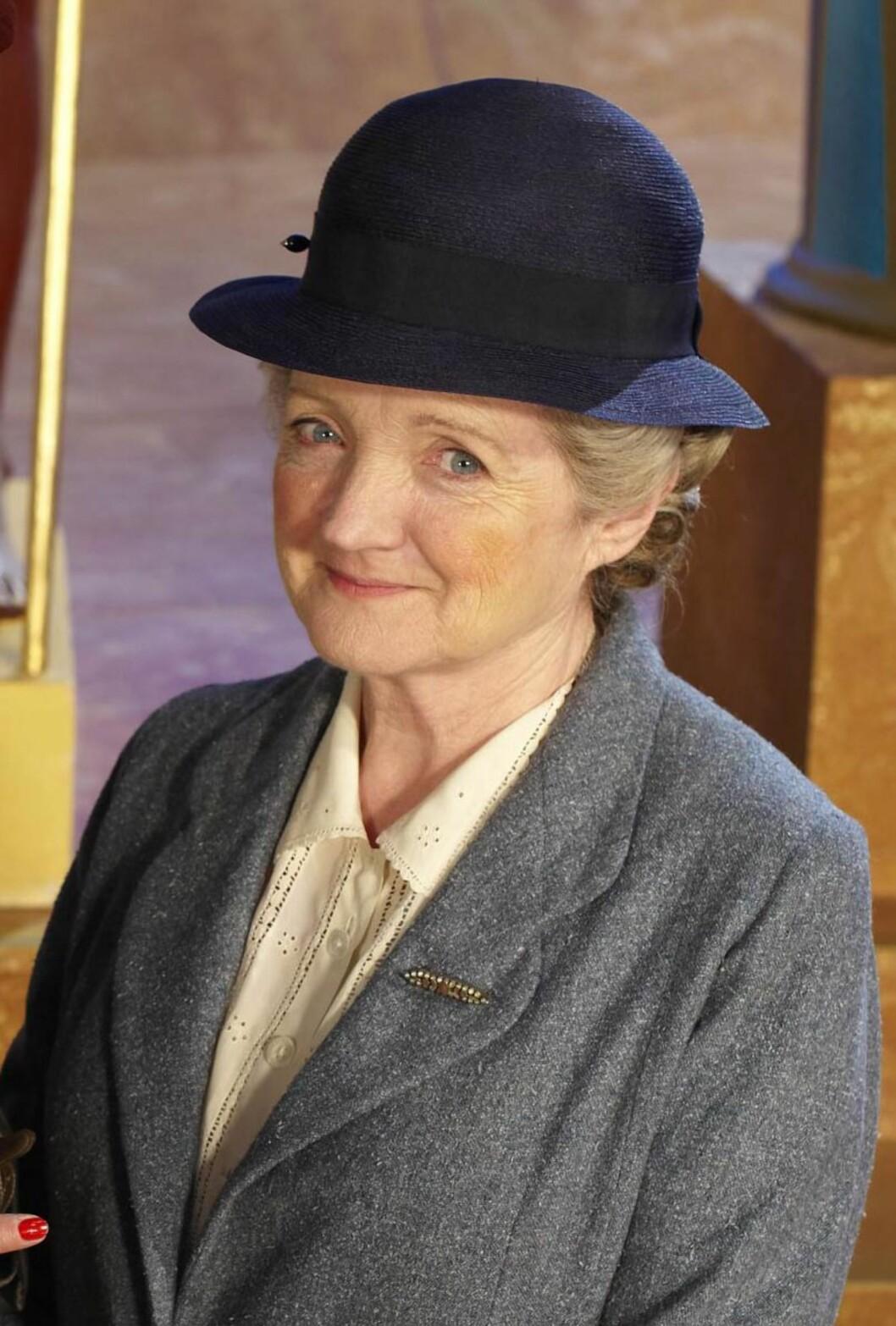 POPULÆR: Julia McKenzie irollen som Miss Marple.  Foto: NTB-Scanpix