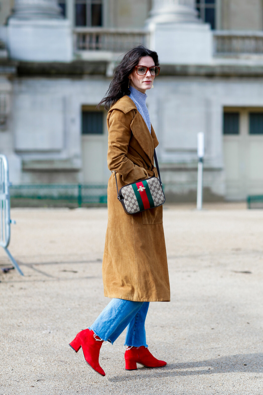 <strong>STREETSTYLE:</strong> Hedvig Sagfjord Opshaug. Foto: Abaca