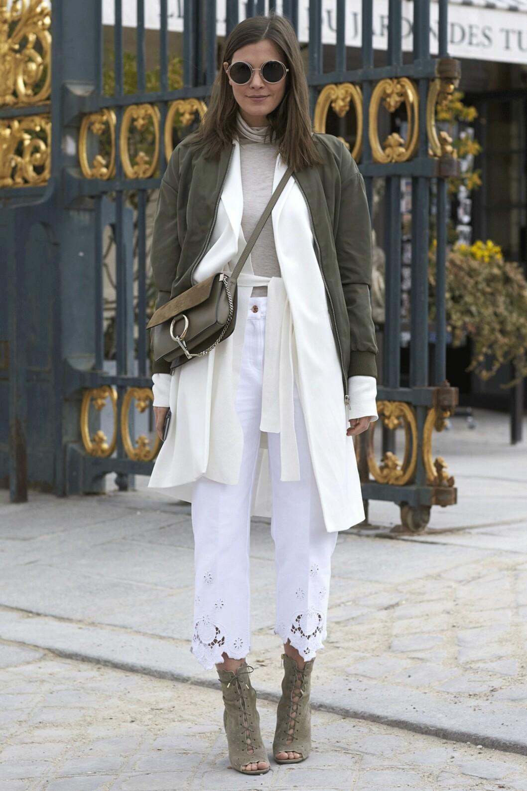 Streetstyle Paris Fashion Week Foto: Scanpix