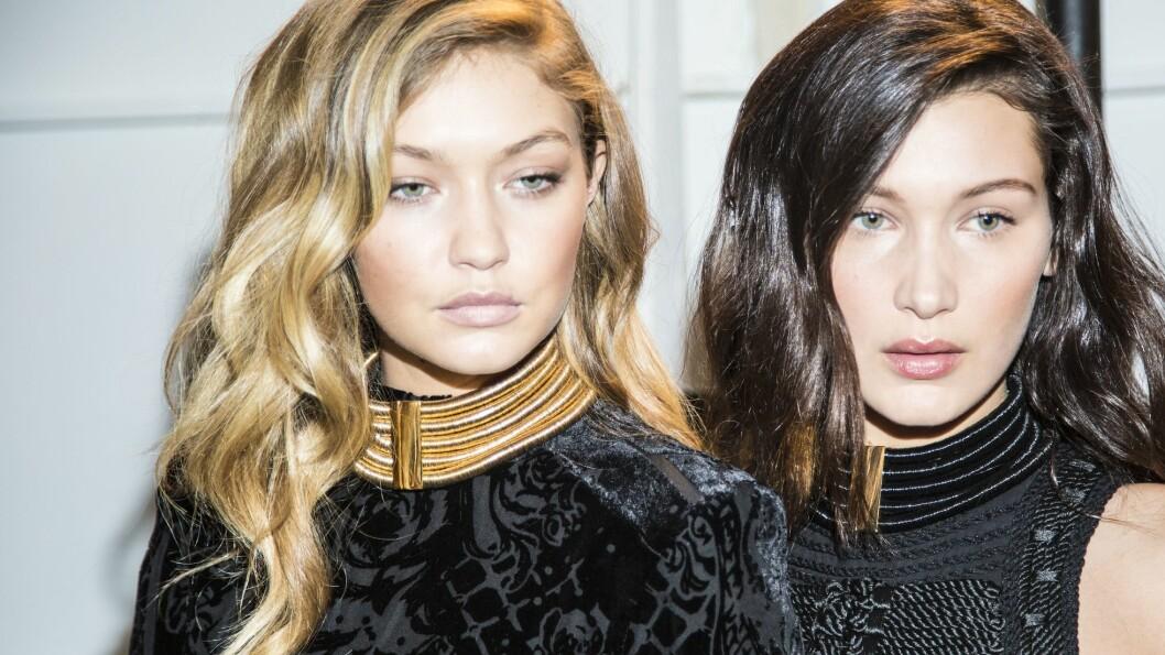 OPERASJONER: Gigi Hadids modell-lillesøster, Bella, skal ifølge flere amerikanske medier ha lagt seg under kniven for å få bedre selvtillit. Foto: Rex Features