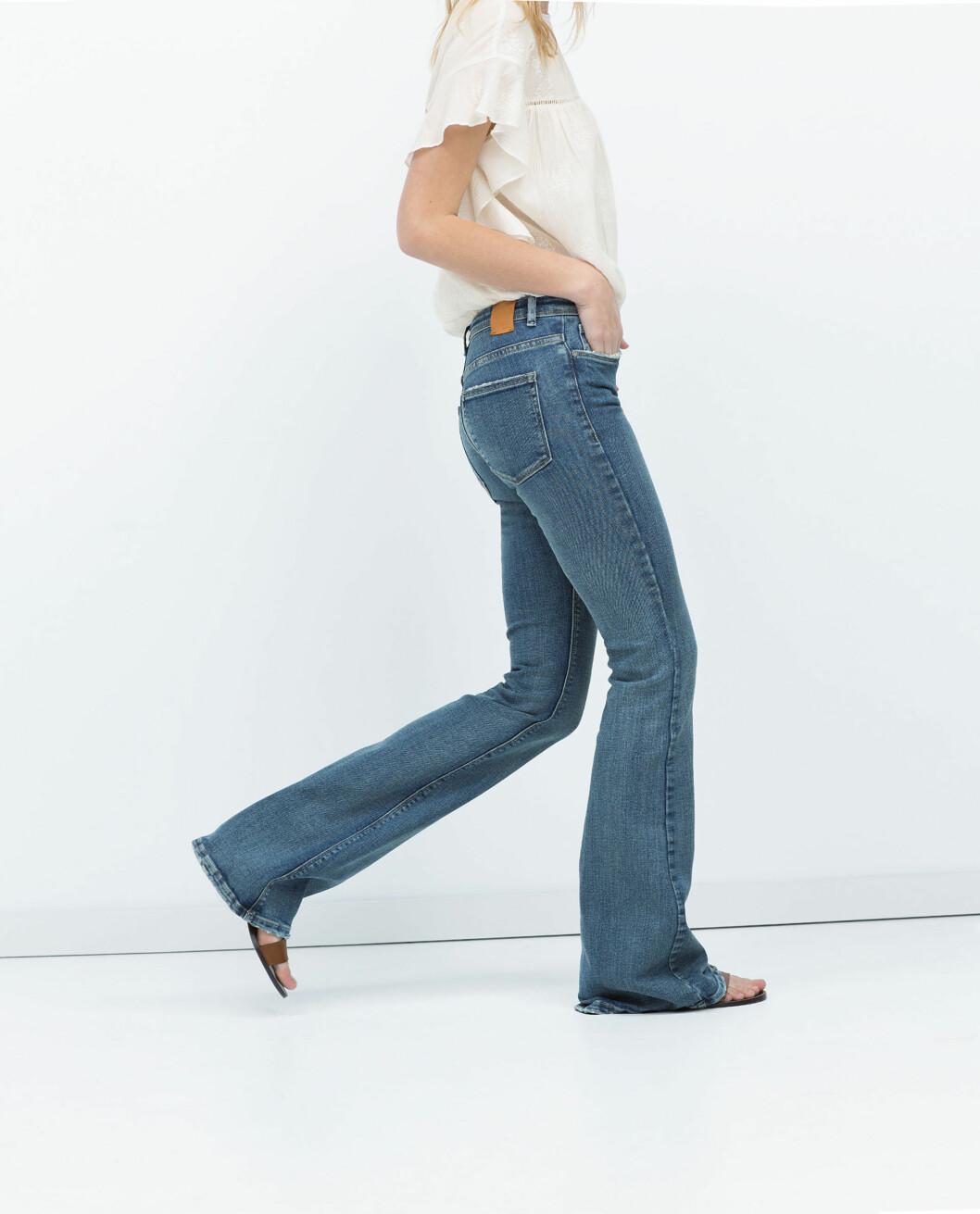 BOOTCUT: Ikke sikker på hva det er? Det er rett og slett jeans med sleng - sånn som denne. Foto: Scanpix