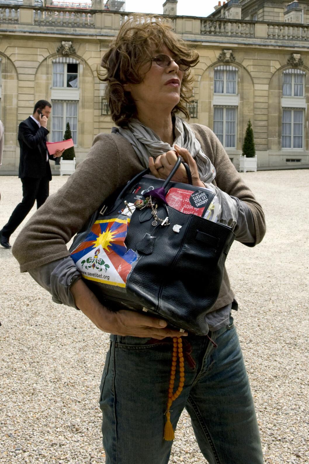 <strong>BIRKIN-VESKEN:</strong> Jane Birkin. Foto: REUTERS