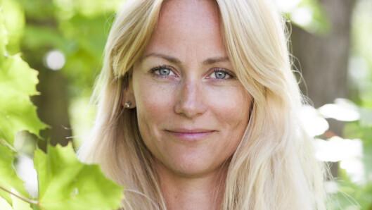 VIL GI RO: Cathrine vil helst at betrakteren føler en ro når han eller hun ser bildene hennes.  Foto: Torjus Berglid