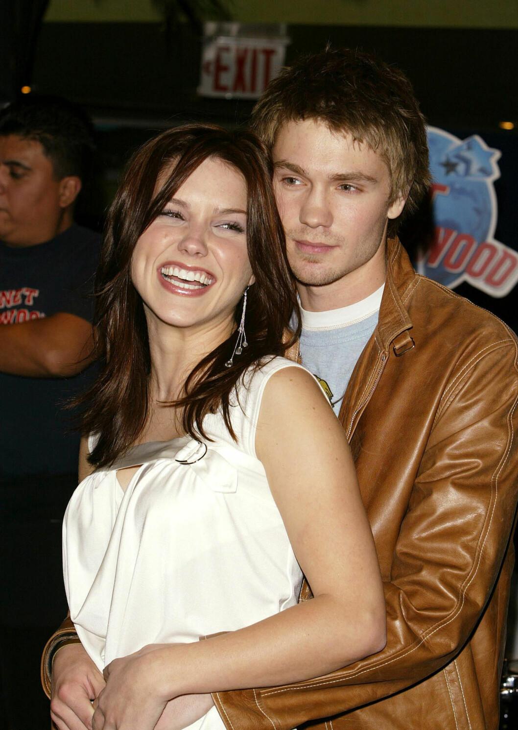 LYKKEN BRAST: Sophia Bush og Chad Michael Murray giftet seg i 2004, men ble skilt allerede året etter. Foto: Scanpix