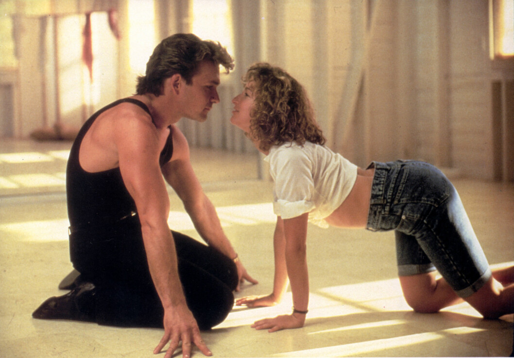 KJENT OG KJÆR: Dirty Dancing er én av de fineste filmene vi vet om – men for hovedrolleinnhaver Partick Swayze var ikke opplevelsen like perfekt. Foto: Mary Evans Picture