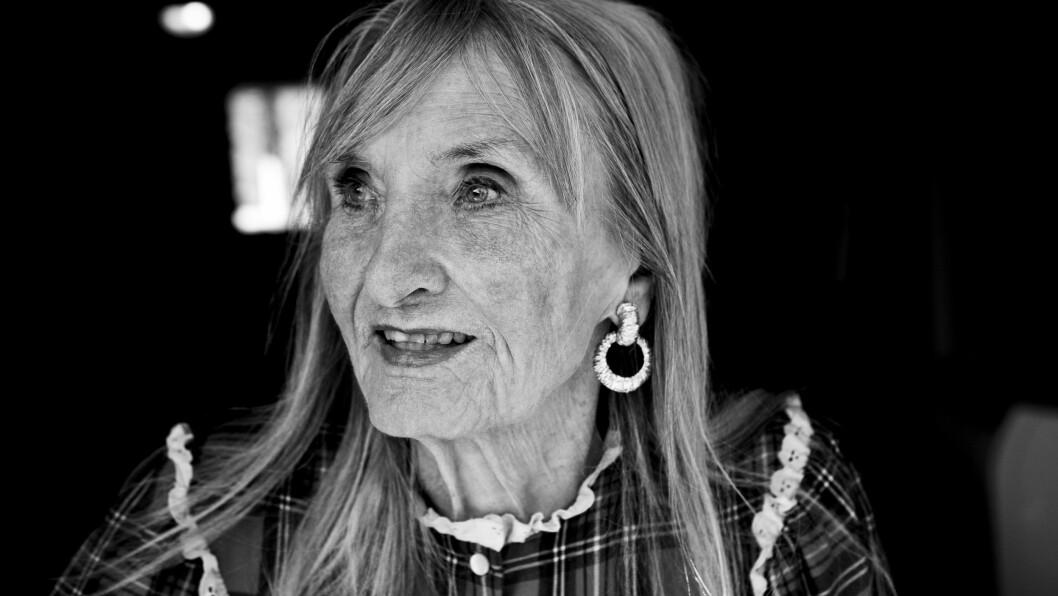 <strong>SOSSEN KROHG:</strong> Den flotte skuespillerinnen ble 92 år. Her er hun fotografert i familiens sommerhus på Hvaler i 2009. Foto: Einar Aslaksen for NTB Scanpix