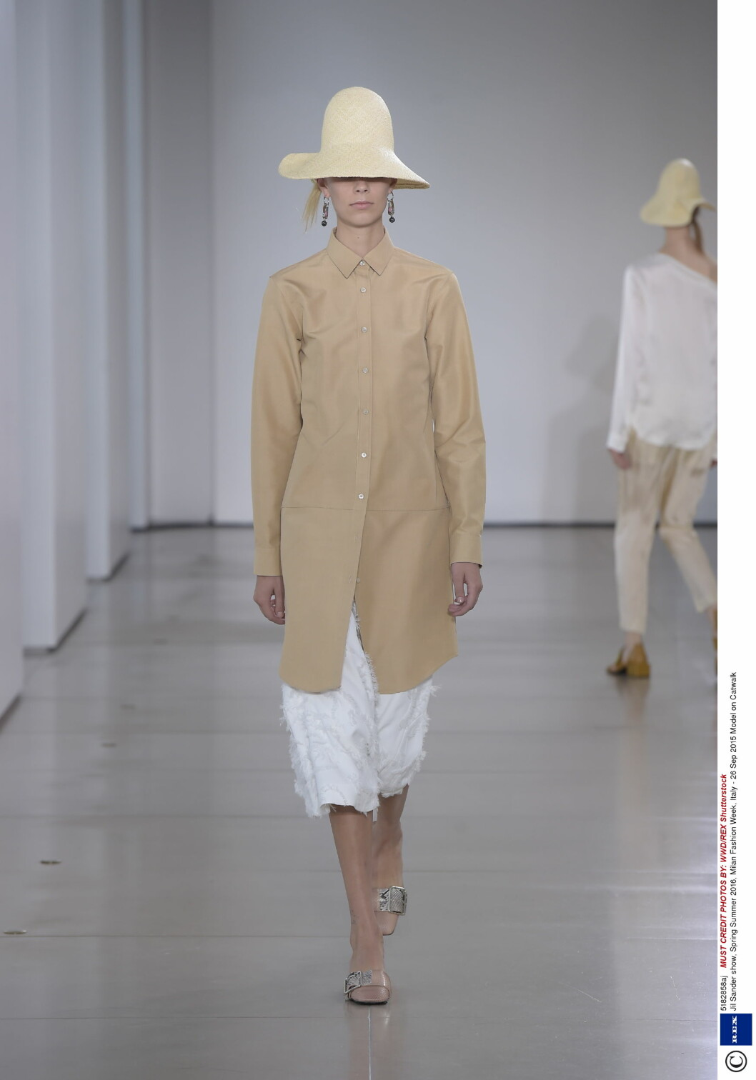 Jil Sander Foto: Rex Features