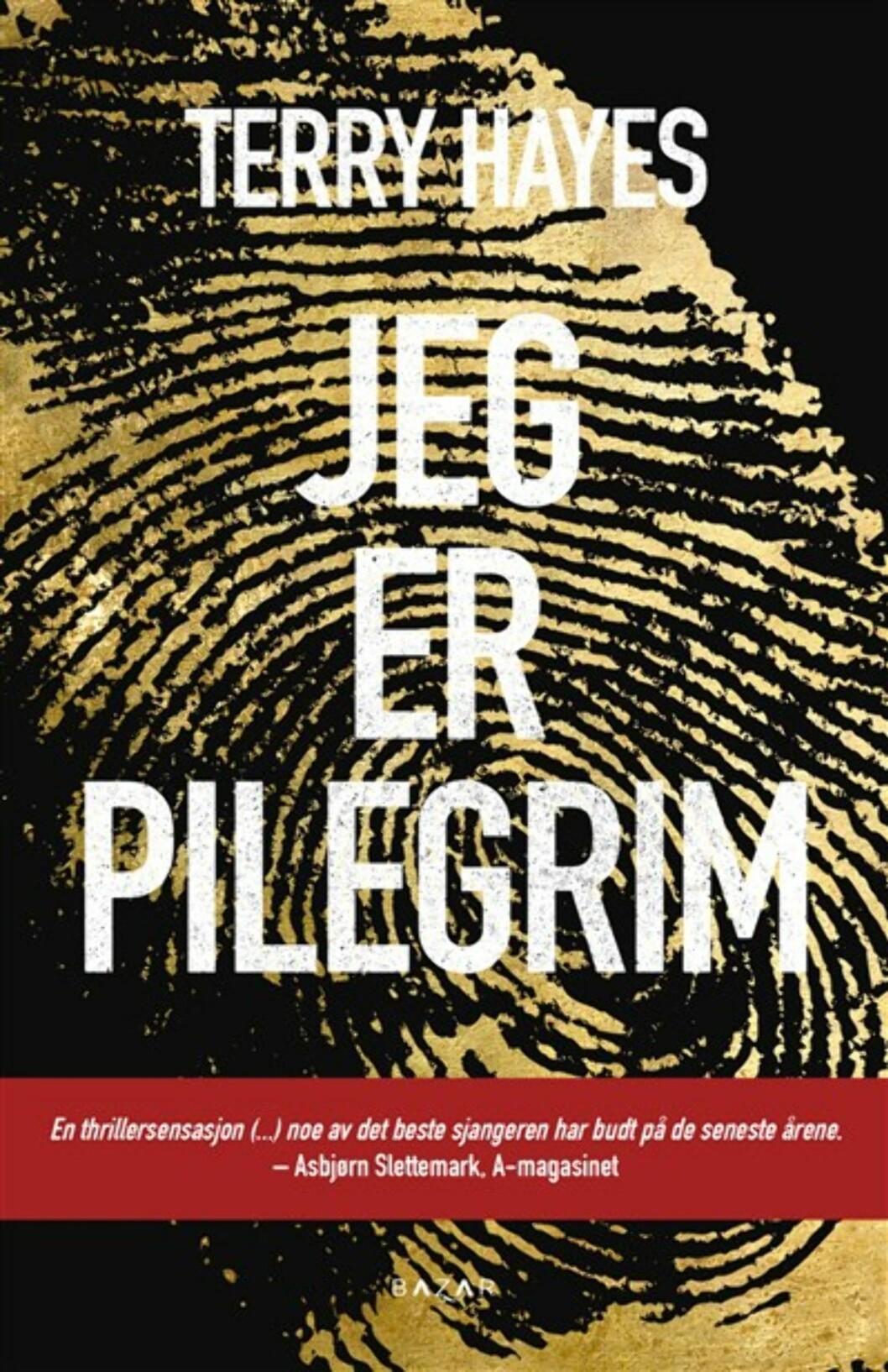 """""""Jeg er Pilgrim"""" av Terry Hayes, kroner 179 på Ark.no.  Foto: Produsenten"""