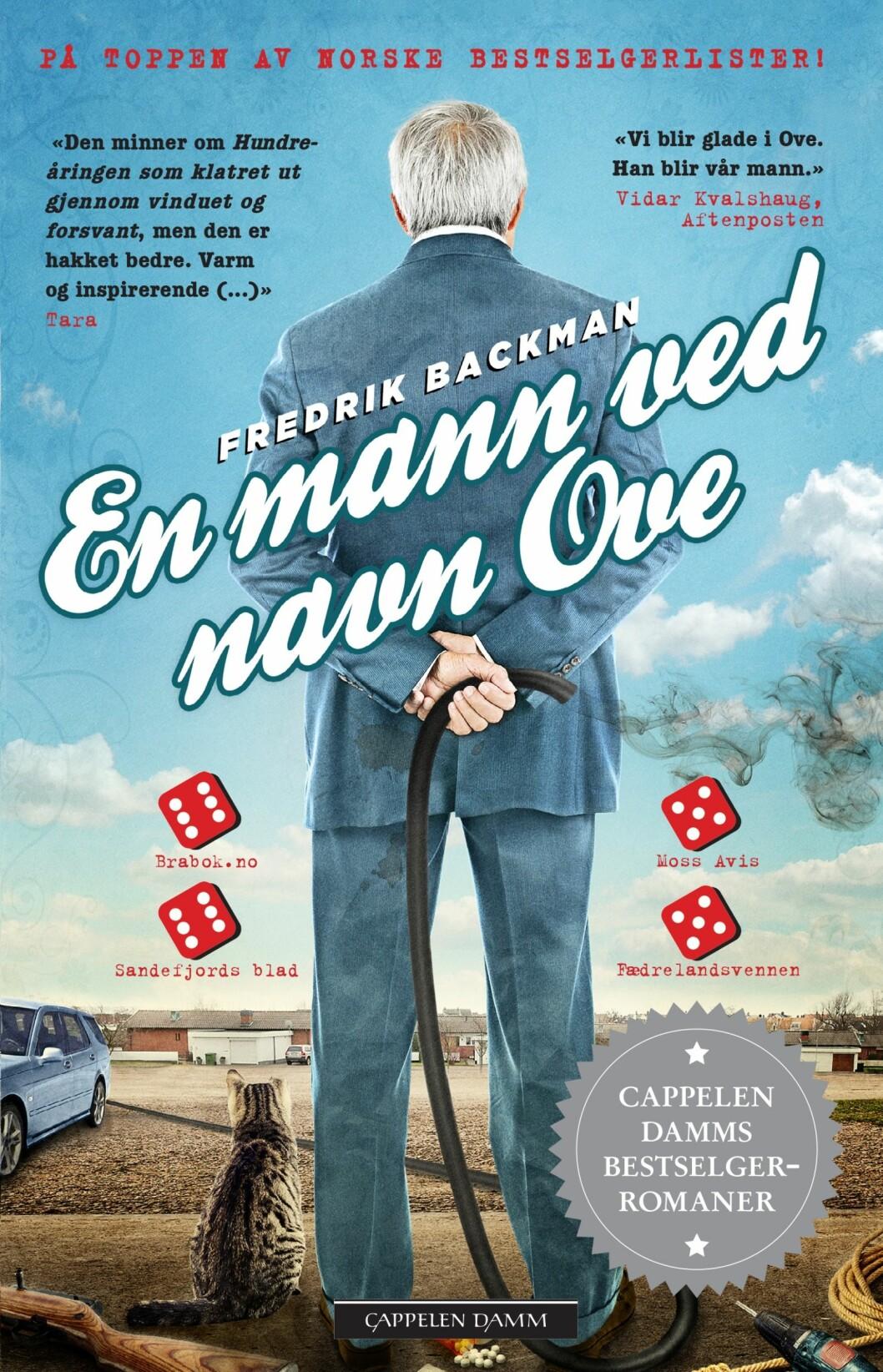 """""""En mann ved navn Ove"""" av Fredrik Backman, kroner 99 på Norli.  Foto: Produsenten"""
