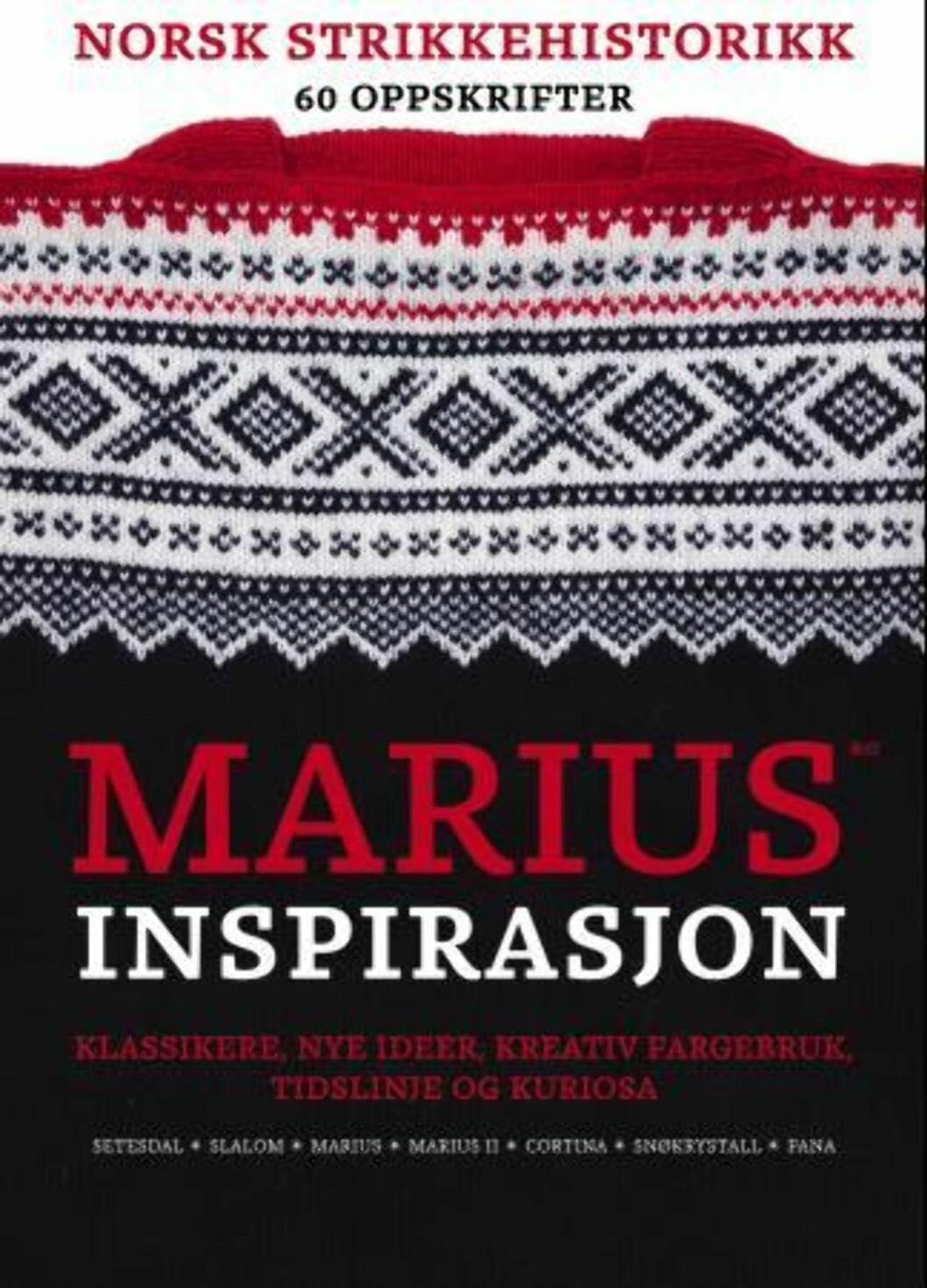 """""""Marius inspirasjon"""" av Vigdis Augusta Yran Dale, kroner 179 på Ark.no.  Foto: Produsenten"""