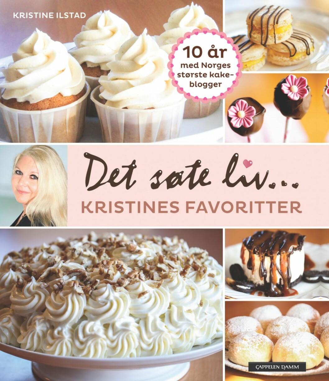 """""""Det søte liv: Kristines Favoritter"""" av Kristine Ilstad, kroner 179 på Ark.no.  Foto: Produsenten"""