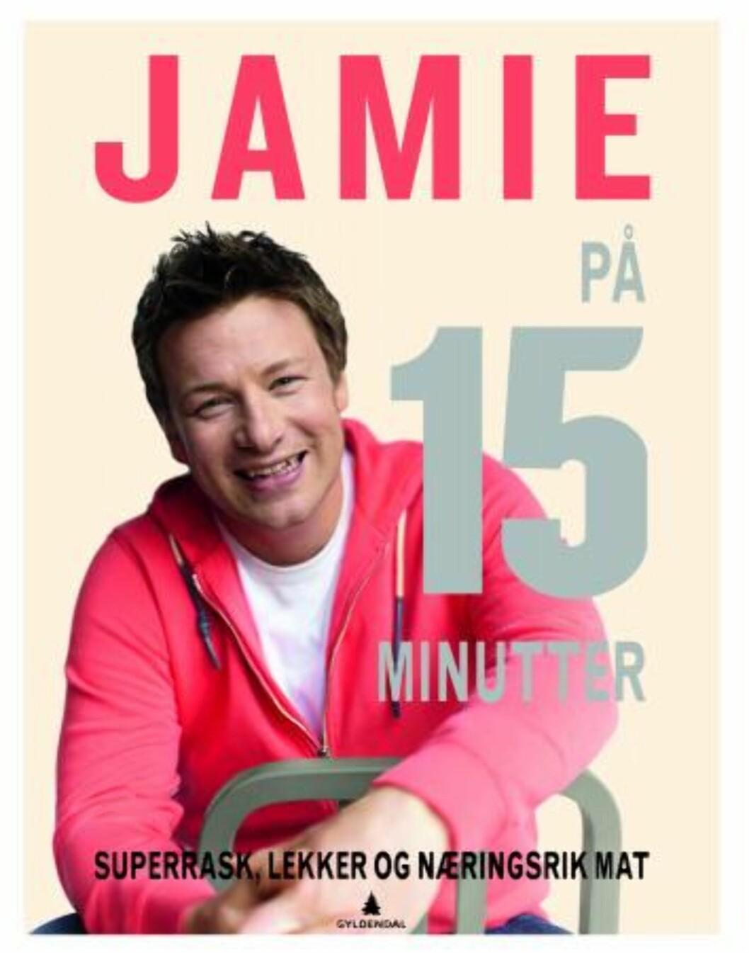 """""""Jamie på 15 minutter"""" av Jamie Oliver, kroner 199 på Ark.no.  Foto: Produsenten"""