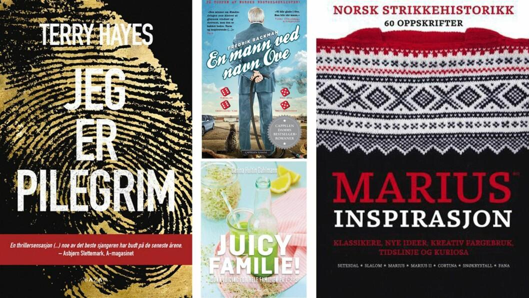 MAMMUTSALG: Årets største boksalg nærmer seg med stormskritt, og i den anledning har vi laget en liste over hvilke bøker du bør være på utkikk etter.  Foto: Produsentene