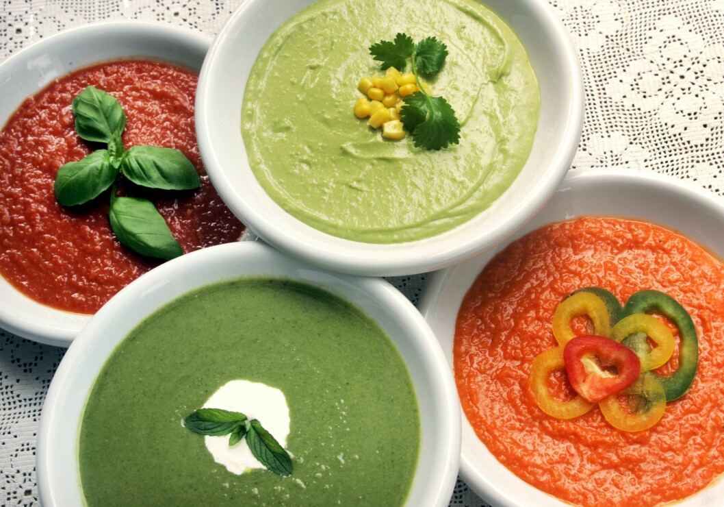 SUPPER: Lager du supper på grønnsaker, er det både kalorifattig og sunt! Foto: Aftenposten