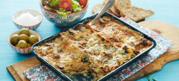 #Pastaonsdag: Sopplasagne med to typer ost