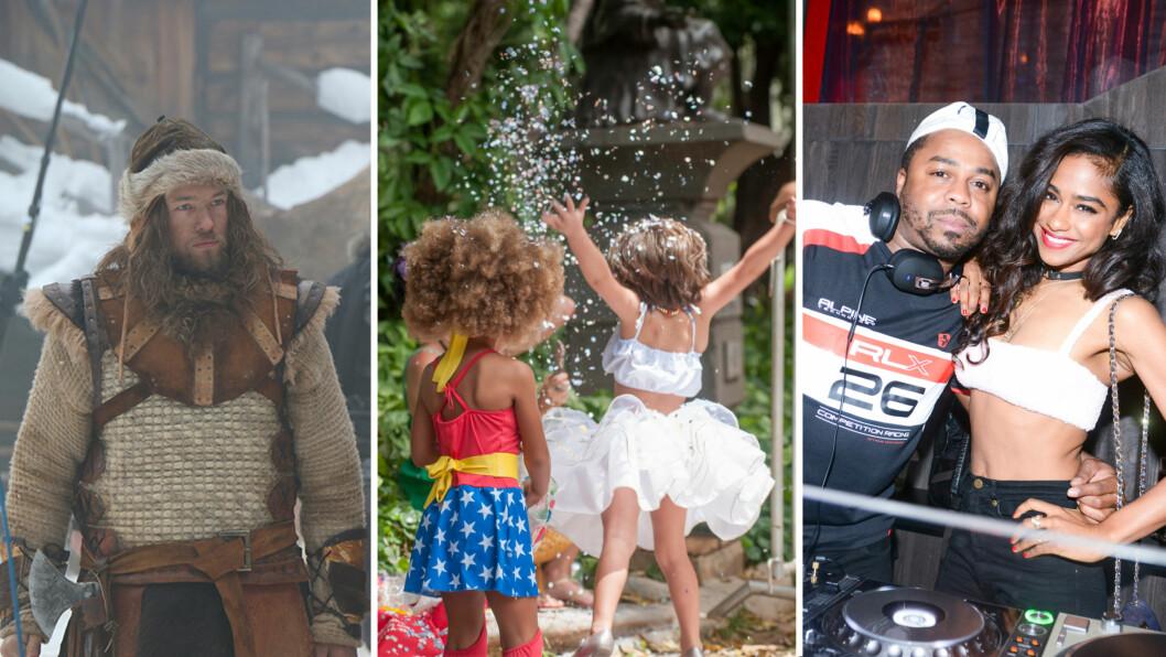 HELGEGUIDE: KK.no har samlet de tre morsomste og mest spennende happeningesene som skjer i Norges fire største byer i helgen. Du kan få med deg både Birkerbeiner-utstilling, karnevalsmoro og hip hop-fest! Foto: Filmweb og NTB Scanpix
