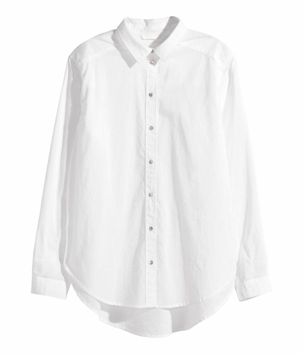 Skjorte fra H&M, kr 199. Foto: Produsenten
