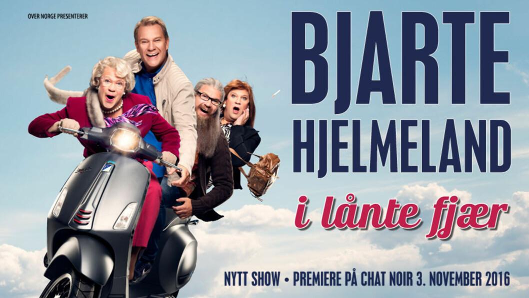 BERGENS STORE SØNN: Bjarte Hjelmeland står på Ole Bull Scene «I lånte fjær» denne helgen. Foto: Faksimile