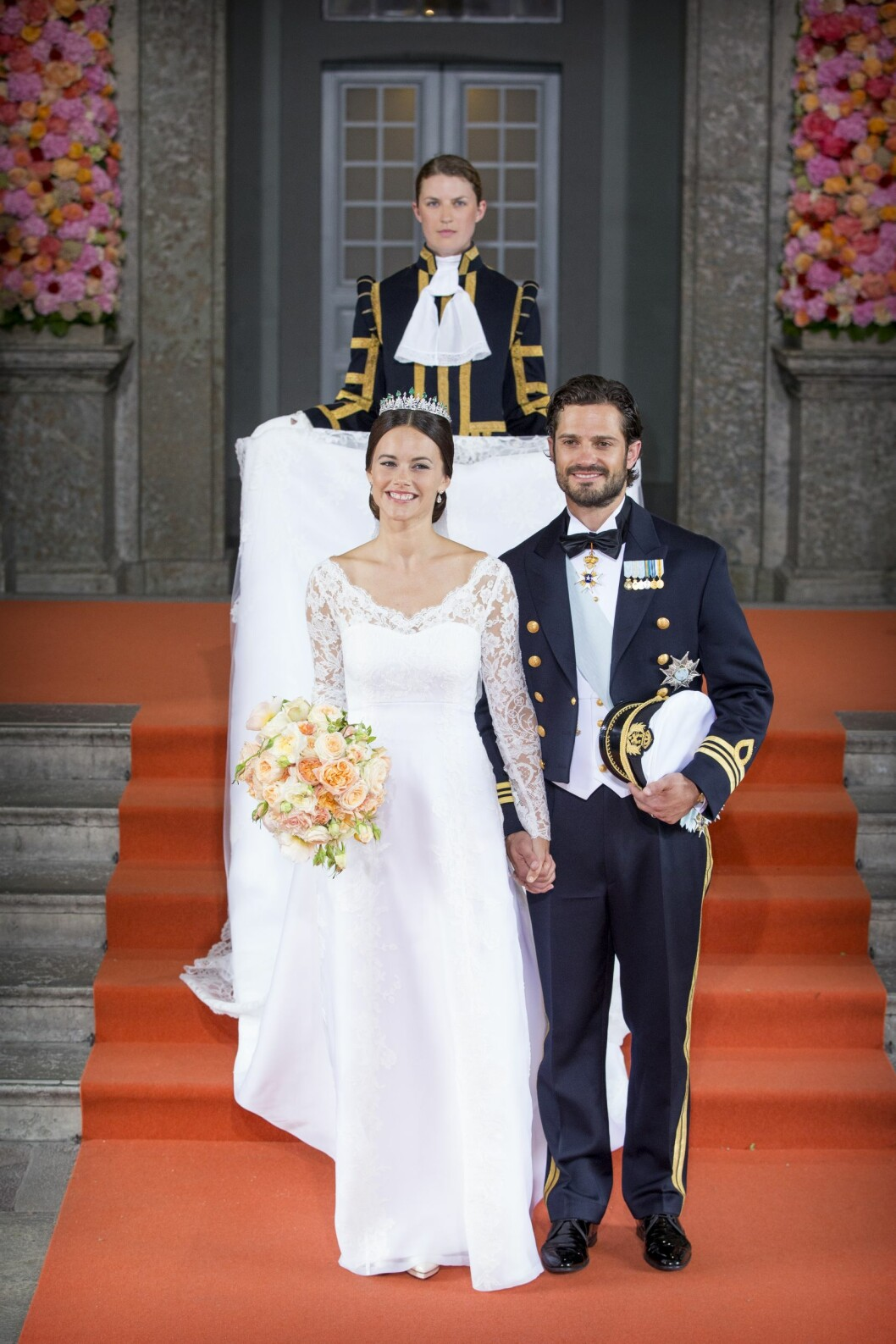GIFTET SEG: Prins Carl Philip og hans Sofia giftet seg 13 juni i fjor.  Foto: DPA