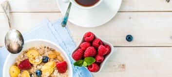 Legger du fortere på deg av å droppe frokost?