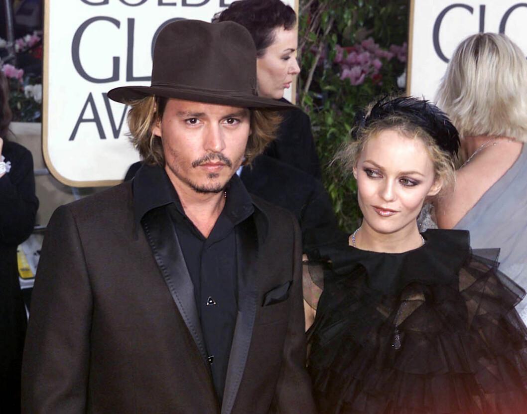 SUPERPAR: Johnny Depp og Vanessa Paradis var et av Hollywoods hotteste superpar. De to skal ha endt sitt forhold i fjor.  Foto: All Over Press