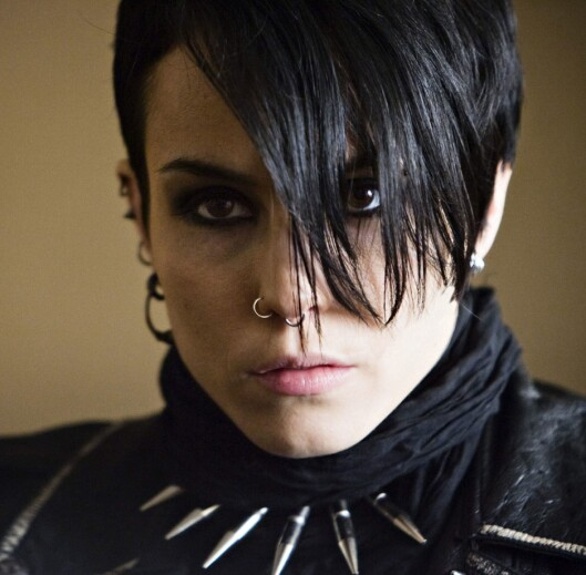 SVENSKE SALANDER: Skuespiller Noomi Rapace som karakteren Lisbeth Salander. Foto: All Over Press