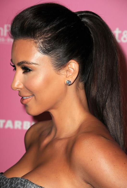 <strong>HØYT:</strong> Kim Kardashian. Foto: All Over Press