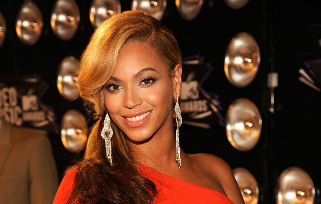 <strong>LAV HESTEHALE:</strong> Beyonce ser nydelig ut med lav hestehale.  Foto: All Over Press