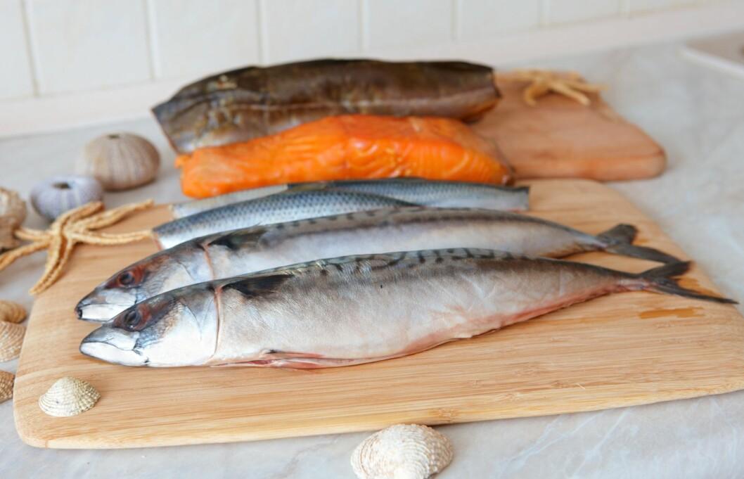 GODE PROTEINER: Ikke bare er fisk full av nyttige, gode proteiner – du får også i deg rikelig med jod. De fete fisketypene har dessuten bra fett og omega 3. Spis i vei, med andre ord.  Foto: Thinkstock