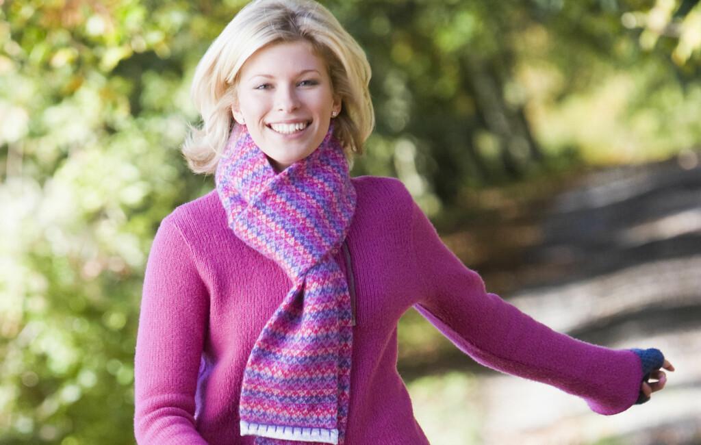 GODE TIPS: Tanntråd, grønn te og friske spaserturer gjør livet sunnere. Foto: Colourbox