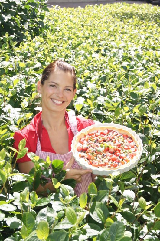 MARIANNMAT.NO: Mariann Straume-Smith er utdannet siviløkonom og jobber til daglig som konsulent i EVRY, men elsker å lage mat på fritiden. Foto: MariannMat.no