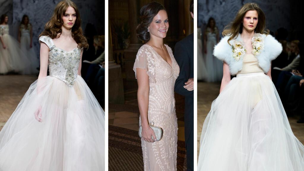 1ef2ff47 BRUDEKJOLEDESIGNER: Ifølge svenske medier er det svenske Ida Sjöstedt som  er designeren bak Sofia Hellqvists