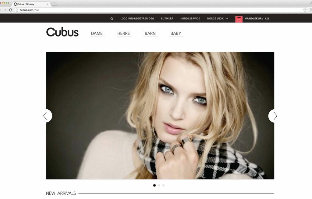 60a5e3185 Shopping: Nå kan du shoppe Cubus på nett - KK