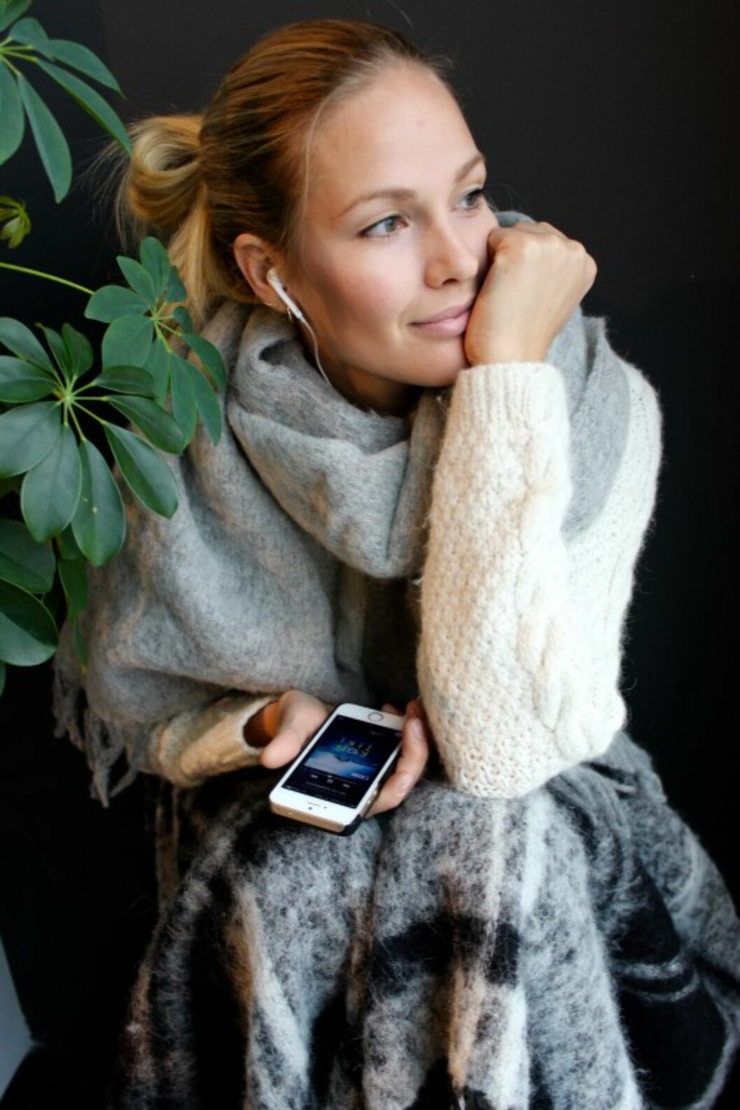 <strong>MARIA SKAPPEL HOLZWEILER:</strong> Gjør som STYLEmag bloggeren å gå for ull og strikk nå.  Foto: Mariaskappel.no