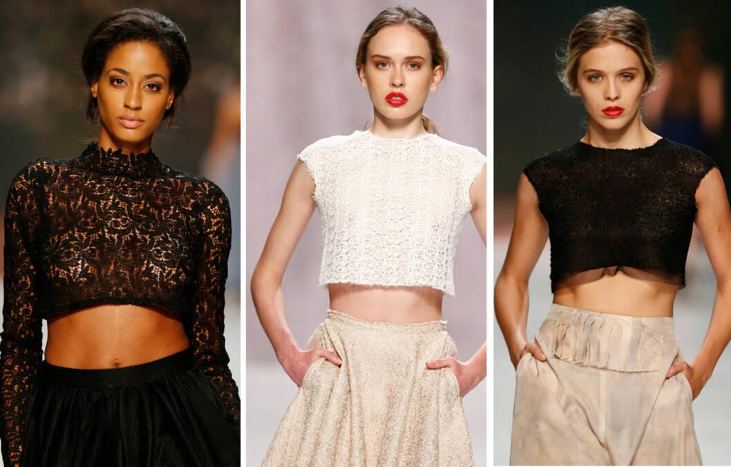 PÅ CATWALKEN: Trenden har også vært å se blant de store designeren på catwalken de siste sesongene.  Foto: All Over Press