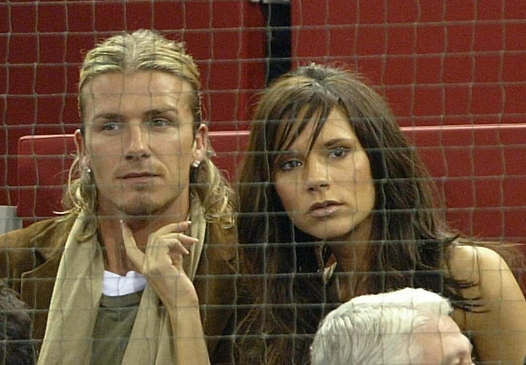 DEN GANG DA: David og Victoria Beckham har jobbet hardt for å komme over den tunge perioden de opplevde som ektepar på begynnelsen av 2000-tallet. Dette bildet er tatt i 2003. Foto: NTB Scanpix