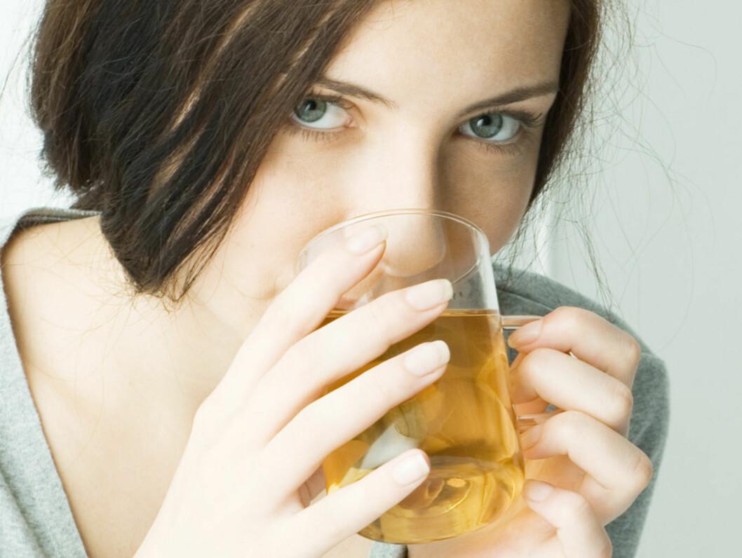 KOPP FOR KROPP: Grønn te har en rekke gunstige helseeffekter. Foto: colourbox.com