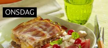 Lasagne med kålblader