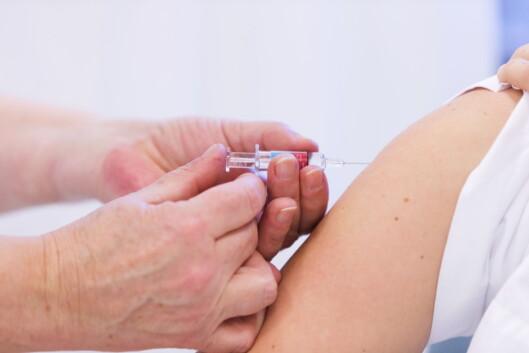 DEL AV VAKSINASJONSPROGRAMMET: Vaksine mot kusma er del av barnevaksinasjonsprogrammet i Norge. Derfor er sykdommen relativt uvanlig.  Foto: NTB scanpix