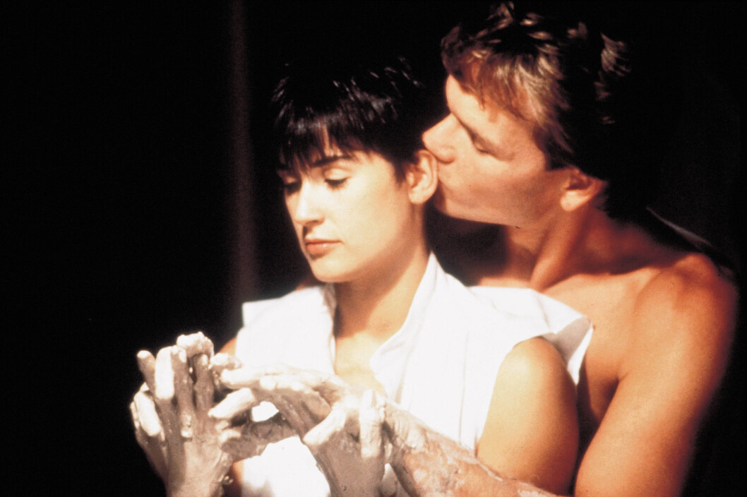 <strong>GHOST:</strong> Demi Moore spilte mot Patrick Swayze i filmen Ghost fra 1990. Foto: PARAMOUNT PICTURES / Album