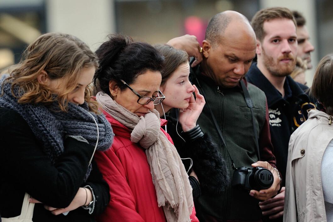 TERROR I PARIS: Forrige helg ble Paris rammet av terror. Minst 129 personer har blitt drept og over 300 såret.  Foto: Abaca