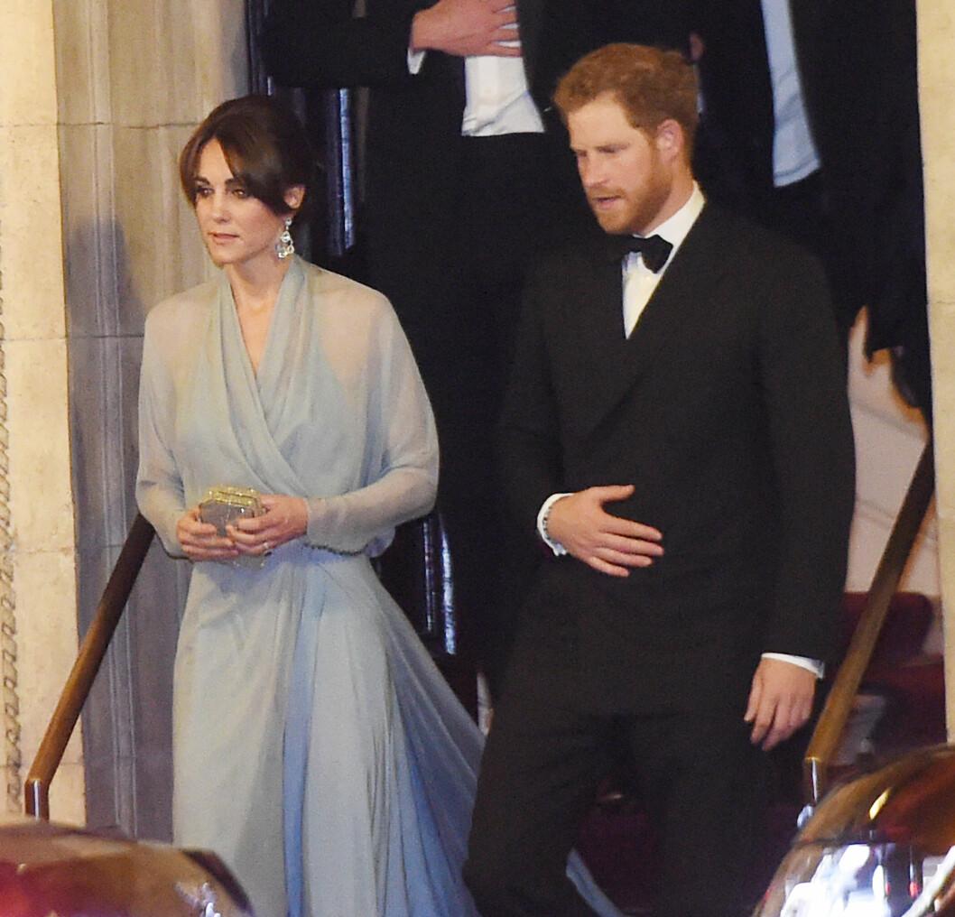 Hertuginne Kate og prins Harry. Foto: Xposure