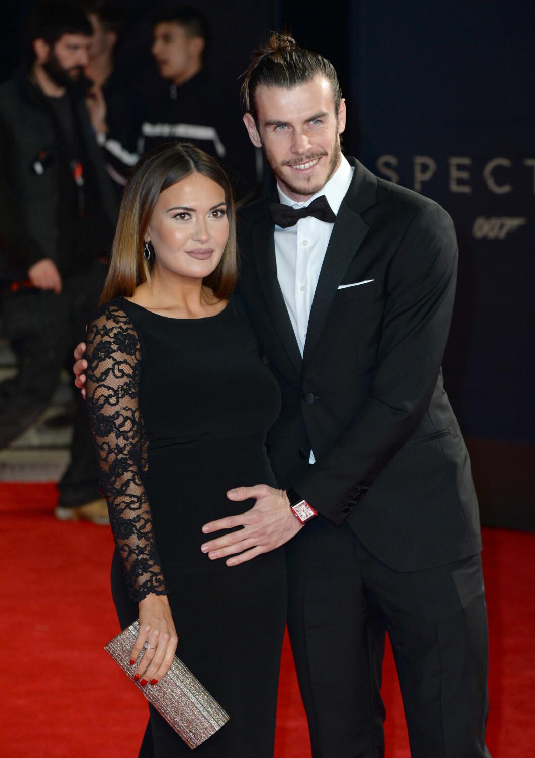 Emma Rhys-Jones og Gareth Bale. Foto: Pa Photos
