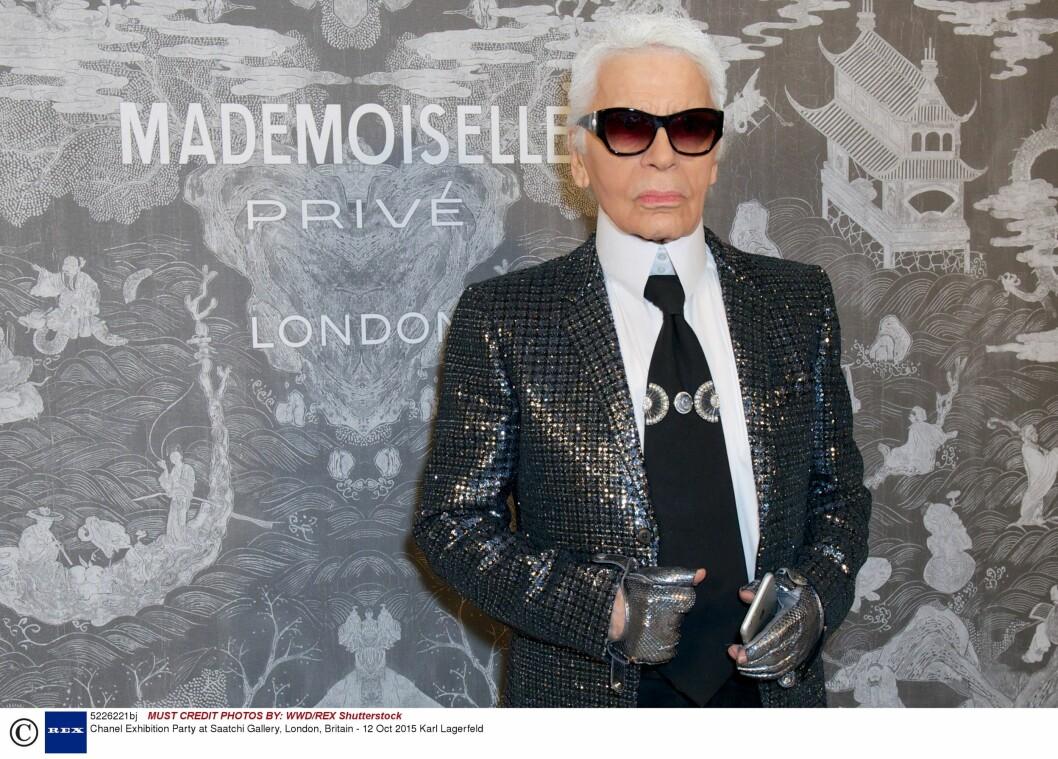 Karl Lagerfeld (82). Foto: Rex Features