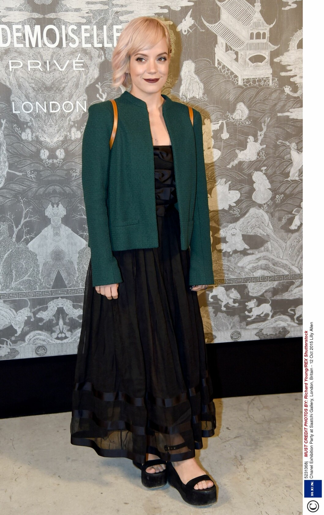 Lily Allen (30). Foto: Rex Features