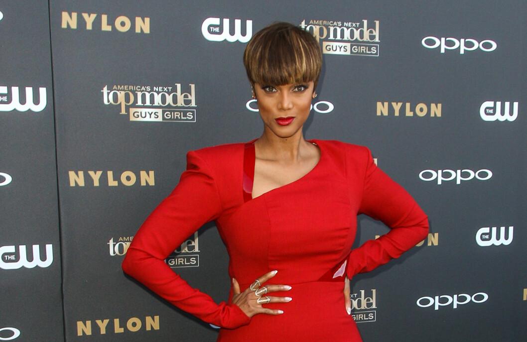 OVER FOR TYRA OG TOP MODEL: Tyra Banks har gjort stor suksess med den populære tv-serien. Nå avslører supermodellen at sesong 22 blir den siste. Foto: Ap