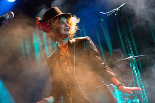 <strong>ROCKESTJERNE:</strong> Ida Maria spiller konsert på Parkteateret i Oslo i 2013.  Foto: Gonzales Photo