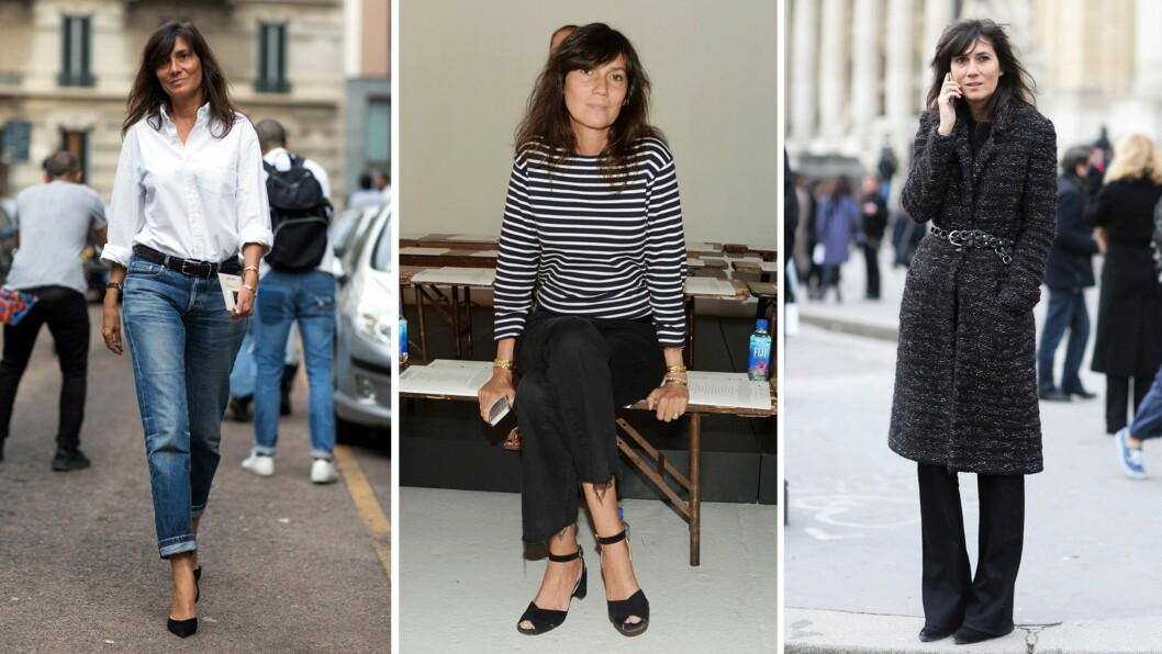 GJØR SOM EMMANUELLE ALT - KLE DEG SOM EN EKTE PARISIENNE: La deg inspirere av Vogue-redaktør Emmanuelle Alt (48). Foto: Scanpix