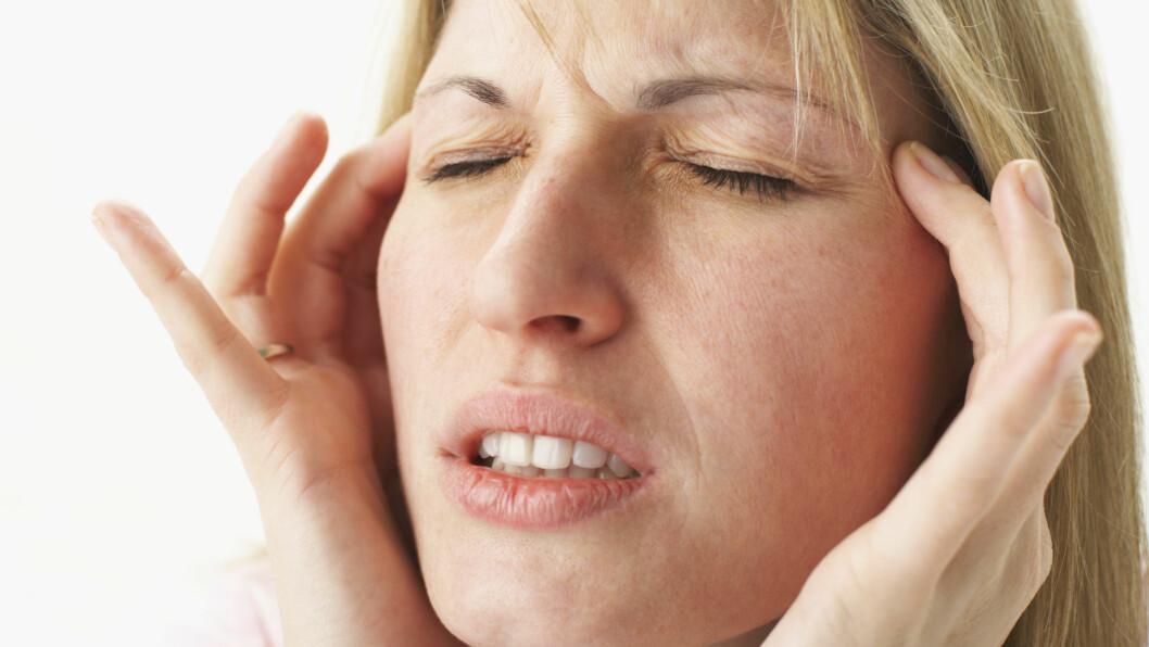 MIGRENE: Visste du at noen matvarer antagelig kan være med på å utløse migrene?  Foto: Scanpix